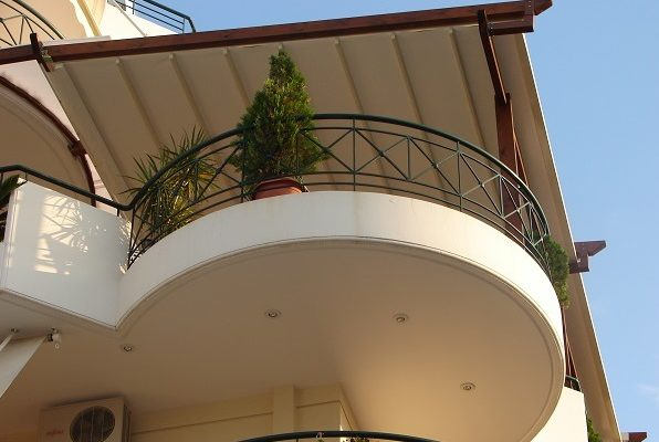 This is a photo of an awning.