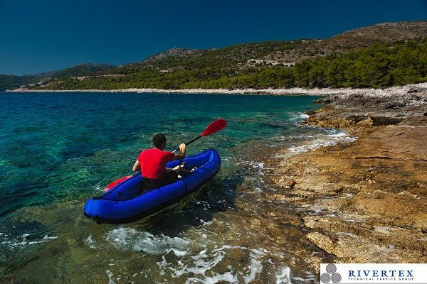 This is a photo of an inflatable lifeboat.