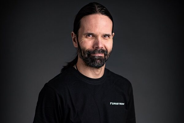 This is a photo of André, who works with packing and logistics at Forsstrom.