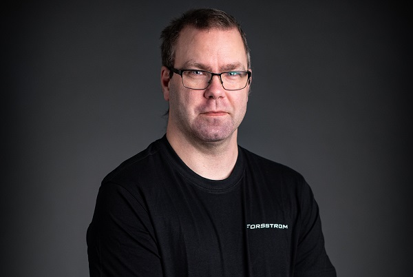 This is a photo of Henrik Järphag, who is Electrical Designer at Forsstrom.