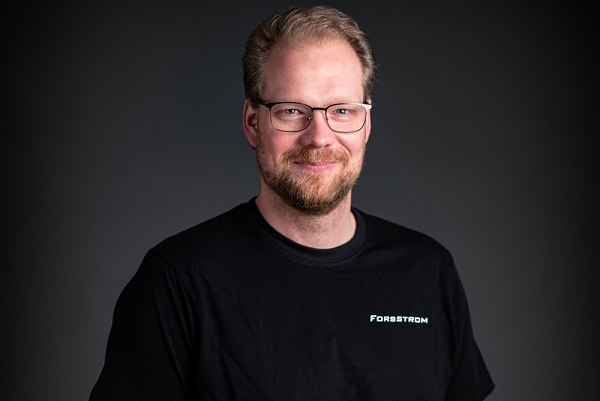 This is a photo of Johan, who is Forsstrom's Development Manager.