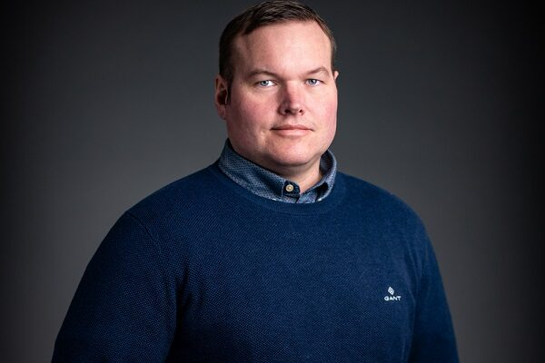 This is a photo of Klas, who is Sales Manager Scandinavia at Forsstrom.