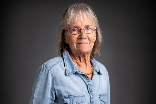This is a photo of Lisbeth, who is in charge or Forsstrom's cleaning service.