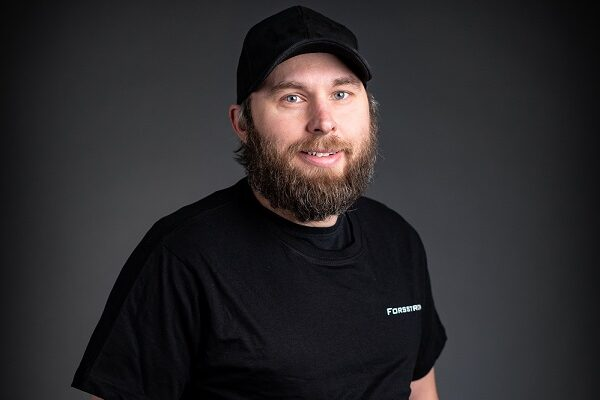 This is a photo of Niklas, who is a Forsstrom technician.