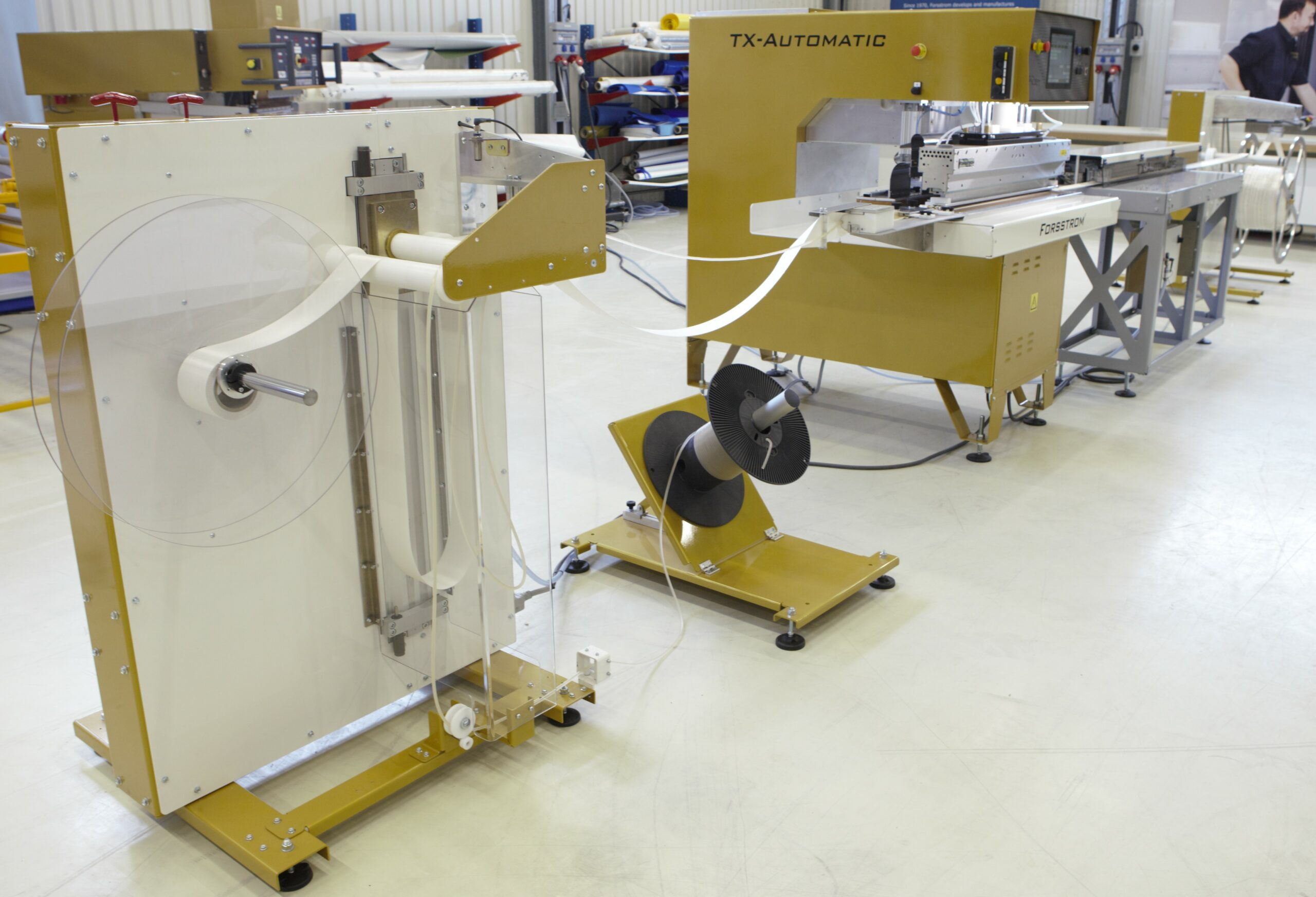 This is Forsstrom's machine TX-Automatic keder.